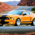 """Shelby GT500 SuperSnake 2008"" by roadandtrackphotos"
