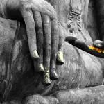 """""""Buddha Sudbuing Mara"""" by Serena"""