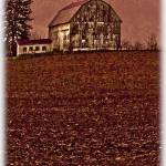 """Little Barn on the Hill"" by ThomasJoseph"