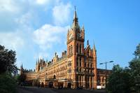 St Pancras Station, London,