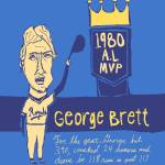 """George Brett KC Royals"" by jbperkins"
