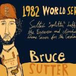 """""""Bruce Sutter St Louis Cardinals"""" by jbperkins"""