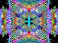 the eternal psychedelic transubstantiation of exis