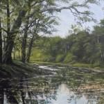 """Summer creek Reflections"" by Guentart"