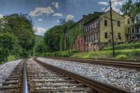 Train Tracks in Piedmont, WV
