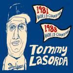 """""""Tommy Lasorda Los Angeles Dodgers"""" by jbperkins"""