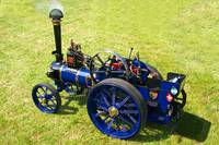 Miniture Steam Traction Engine