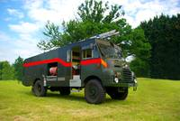 Green Goddess Fire Engine