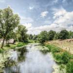 """The River Avon in Warwickshire, England"" by SteveWalton"