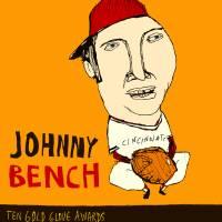 Johnny Bench Cincinnati Reds Art Prints & Posters by jay perkins