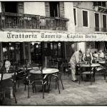 """Trattoria In Venice - Italy"" by madeline"