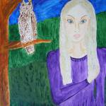 """Evening with Owl"" by Faeries"