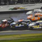 """NASCAR Daytona 500 2012 Track Action"" by roadandtrackphotos"