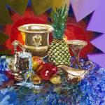 """Sunny Tropical Fruits"" by ArtlbyYelena"