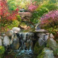 Water Garden Art Prints & Posters by Blaney Harris