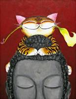 Cat art by catmaSutra- Peace Accord II