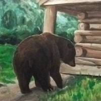 Brown Bear, Brown Bear Art Prints & Posters by Desray Lithgow