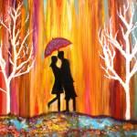 """Romance in the rain II"" by mkanvinde"
