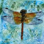 """Dragonfly Dips Mint Green Chocolate Chip, Art"" by schulmanart"