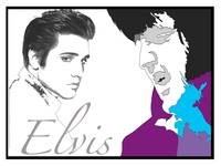 ELVIS - YOUNG & OLD