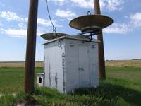 TL Radio Relay Hut with Parabolic Antennae