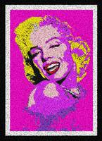 MARILYN MONROE - POINTILLISM