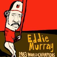 Eddie Murray Baltimore Orioles Art Prints & Posters by jay perkins