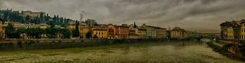 Panorama of the Arno River