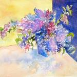 """""""Lilac Blooms"""" by lindahaile"""