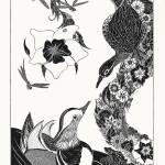 """Mandarin Ducks (Org. 17"" x 25"")"" by KenRileyArt"