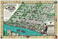 Savannah Historic District Illustrated Map