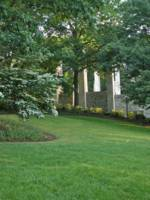 Lawn by War Memorial Chapel, Virginia Tech