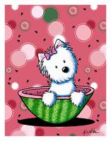 Watermelon Westie Girl
