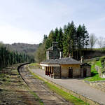 """The Disused Alton Towers Railway Station (22638-R)"" by rodjohnson"