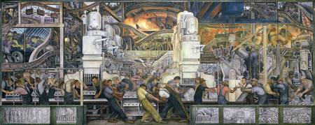 Detroit Industry, North Wall, 1932-33