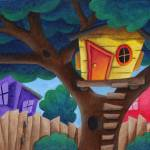 """treehouse"" by illustratorheidi"
