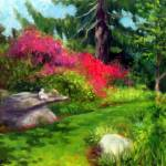 """Azaleas, Kentford Farm"" by blaney"
