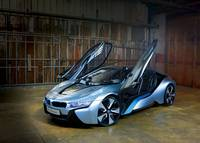 BMW i8 Concept Doors Open 2012