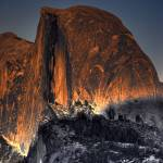 """Half Dome Alpenglow"" by PaulGaitherPhotography"
