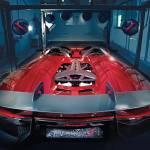 """Lamborghini Aventador J Concept Rear 2012"" by roadandtrackphotos"