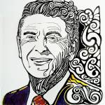 """Ronald Reagan"" by bengman007"