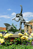 The Boy and the Goose Statue, Derby (18171-RDA)
