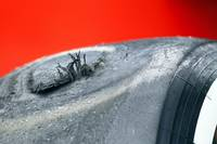 Chinese GP 2012 Flat Spotted Tire