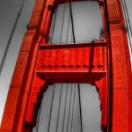 """The Golden Gate Bridge-Fish Eye View"" by agroth"