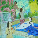 """Bathing Peris"" by yolla"