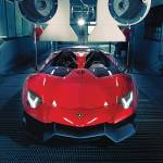 """Lamborghini Aventador J Concept POTM 2012"" by roadandtrackphotos"