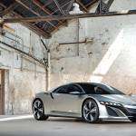 """Acura NSX Concpet Front POTM 2012"" by roadandtrackphotos"