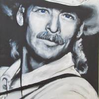 Alan Jackson - In the Real World Art Prints & Posters by Eric Dee