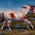 """""""Beautiful Paint Horse"""" by KerrysOriginalArt"""