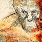 """The rise of the planet of the apes 2"" by shonarain"